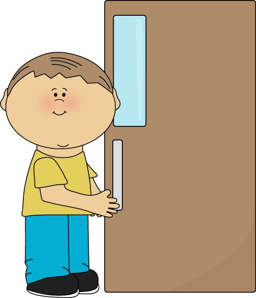A Free Boy Door Holder Clip Art Image Fo-A free Boy Door Holder clip art image for teachers, classroom projects, blogs, print, scrapbooking and more. classroom jobs clipart-1
