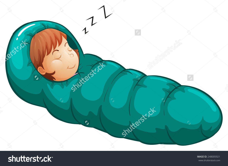 A Girl In A Sleeping Bag .-a girl in a sleeping bag .-0
