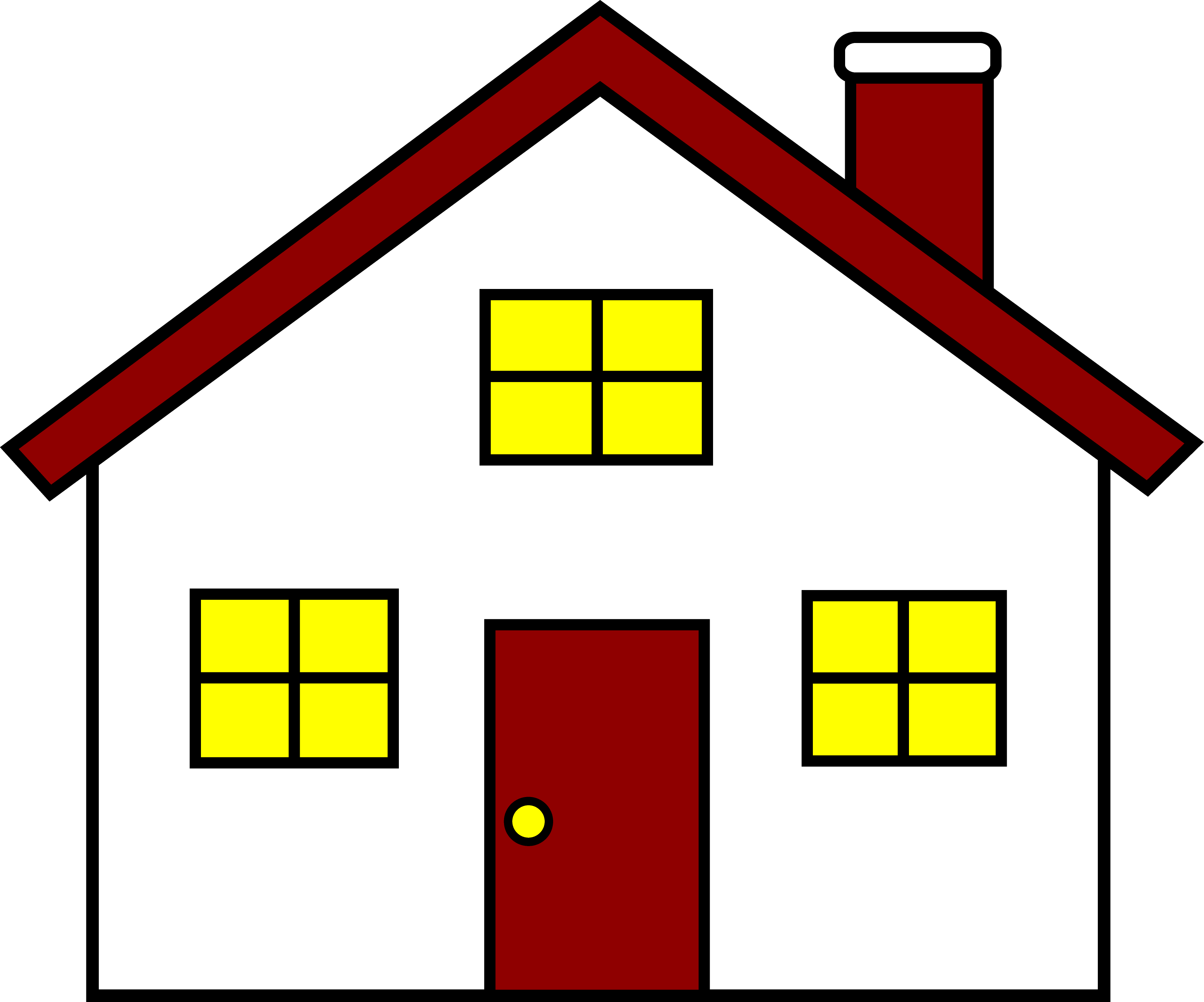 A House Clipart | Houses | Home Image Area
