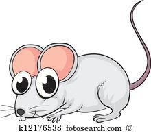 A mouse - Clip Art Mouse