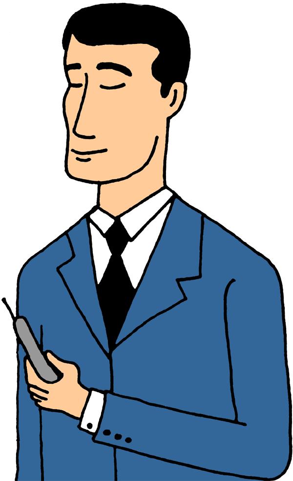 A Perfect World - Clip Art: Communicatio-A Perfect World - Clip Art: Communications. Man Clip Art-1