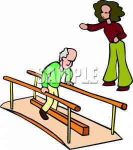 A Person, a Man, In Physical Therapy - C-A Person, a Man, In Physical Therapy - Clipart-13