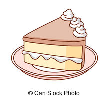 A piece of cake Clip Artby ...