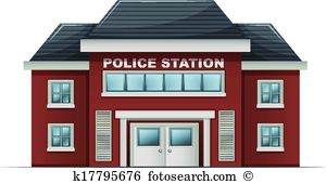 A police station building