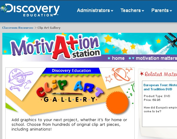 A resource provided by Discovery Education to guide students and provide Science Homework help to.