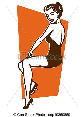 ... A Vintage Pin Up Girl-... A vintage pin up girl-1