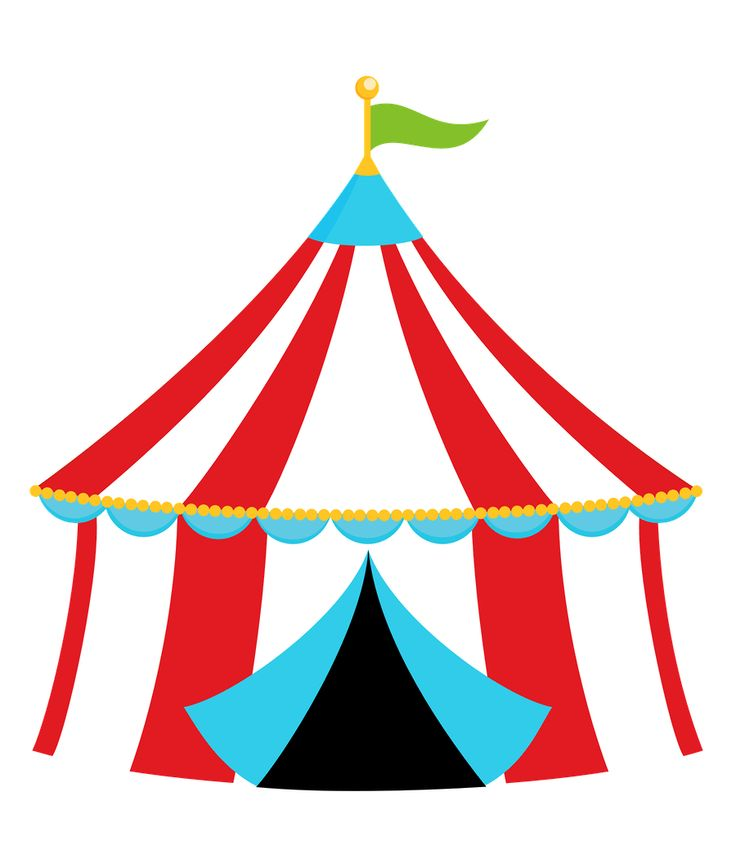 Circus tent clipart free - Cl