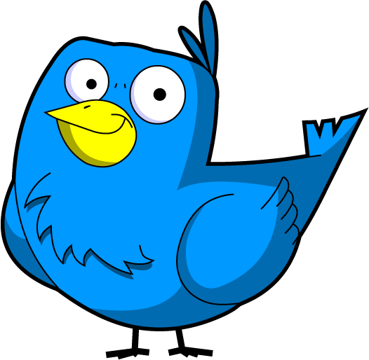 A101 Cartoon Bird Clip Art