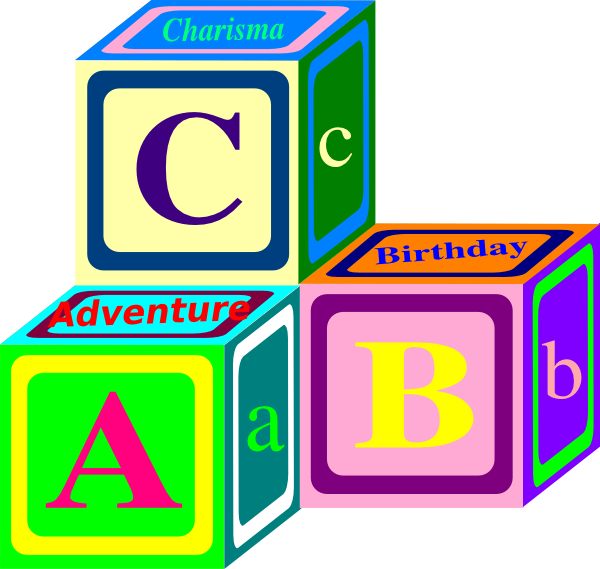 Abc Blocks Clip Art u0026middot; Abc Blocks Cliparts