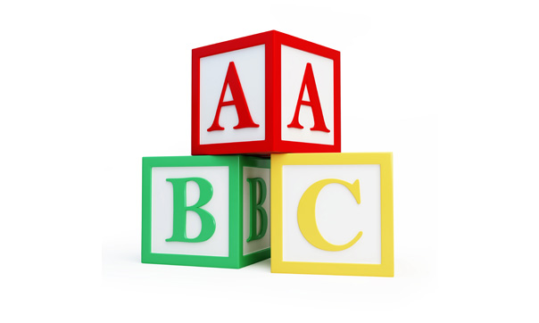 Abc Blocks Clipart