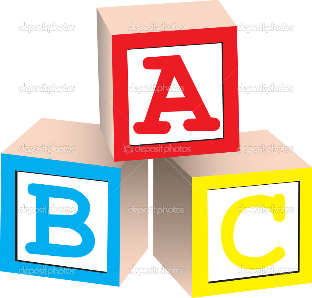 Abc Building Blocks Clipart