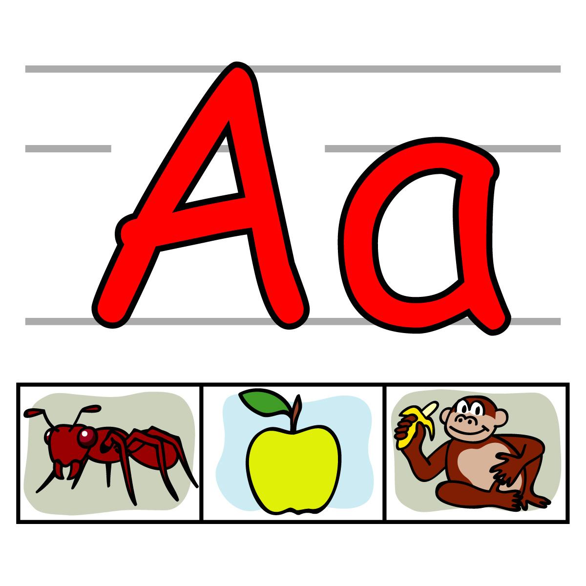Abc Clipart . - Letter A Clip Art