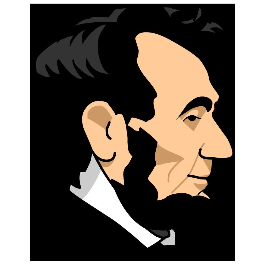 Abe Lincoln Clip Art - ClipArt .