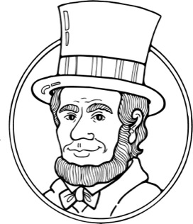 ... Abe Lincoln Clip Art - cl - Abe Lincoln Clipart