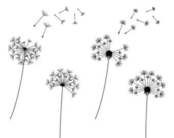 Dandelion Clip Art