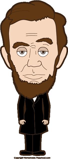 Abraham Lincoln Birthday Clip .