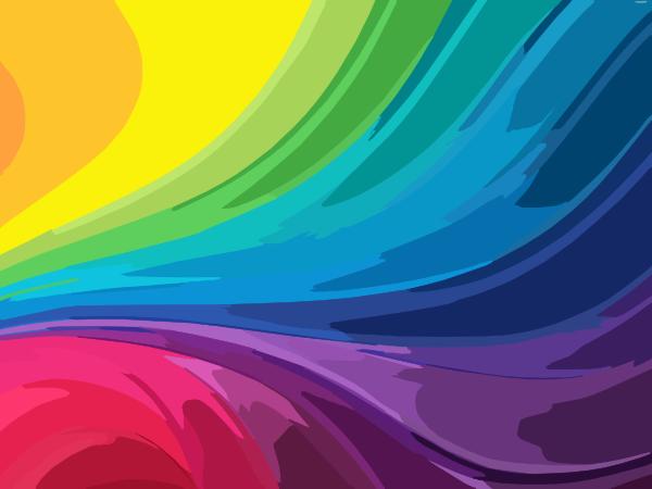 Abstract Rainbow Background Clip Art At Clker Com Vector Clip Art