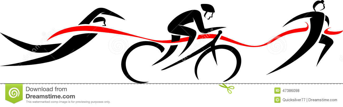 Abstract Triathlon Events Royalty Free S-Abstract Triathlon Events Royalty Free Stock Photos-0
