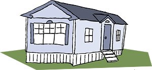 Trailer House Clipart Mobile