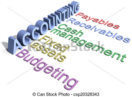 Accounting Cycle Clipartby Nasir11648/39-Accounting cycle Clipartby nasir11648/39,086; Business corporate Accounting Department words - Row of.-10