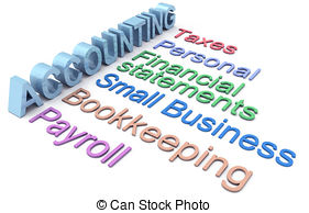 ... Accounting Tax Payroll Services Word-... Accounting tax payroll services words - Row of personal and.-12