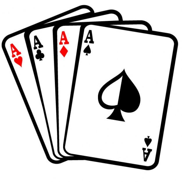 Aces Poker Playing Cards .-Aces Poker Playing Cards .-0