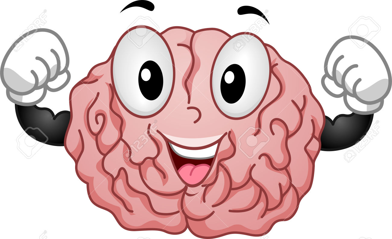 active brain: Illustration of .