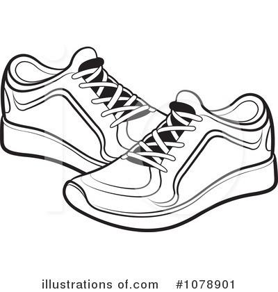 Addidas Tennis Shoe Clipart Cliparthut Free Clipart