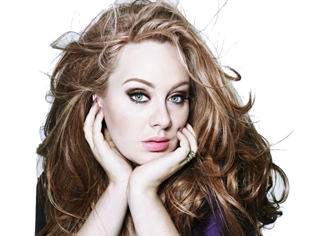 Adele PNG File