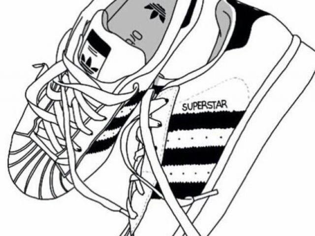 Adidas Shoes Clipart Black And White-Adidas Shoes Clipart black and white-11