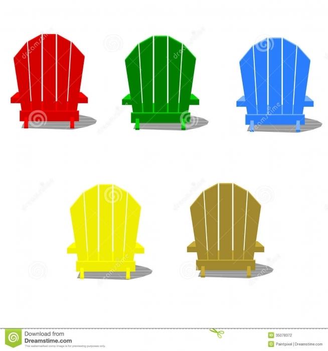 ... Adirondack Chair Clipart Clipart Kid