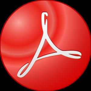 Adobe Acrobat Symbol Clip Art