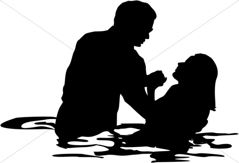 Adult Female Full Immersion Baptism