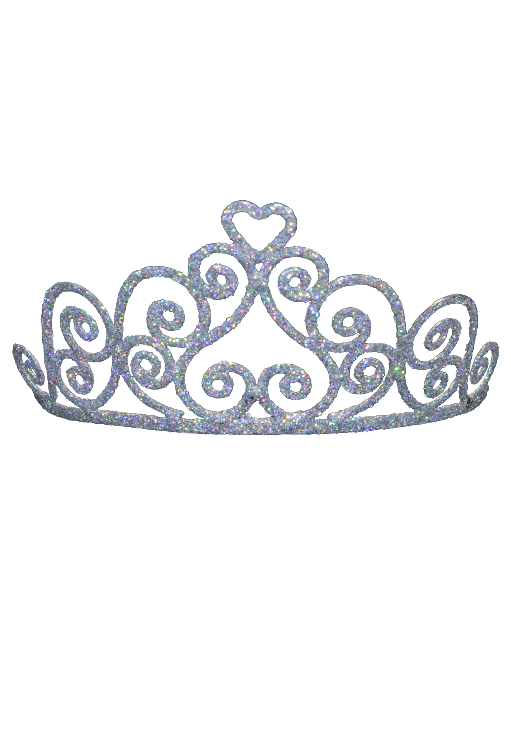 Adult Sparkle Heart Tiara-Adult Sparkle Heart Tiara-4