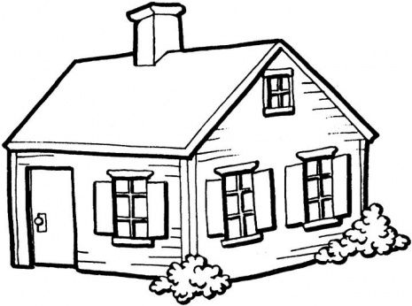 Advanced Fairytale Houses . - House Clipart Black And White