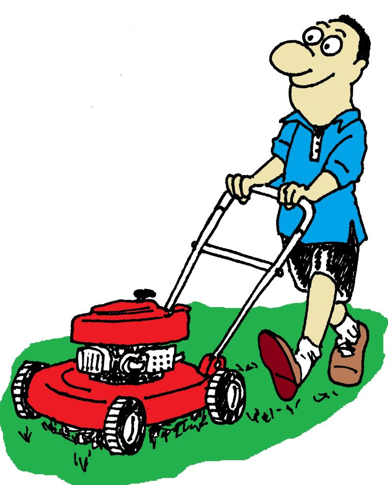 Adventures In Lawn Mowing Par - Lawn Mowing Clip Art