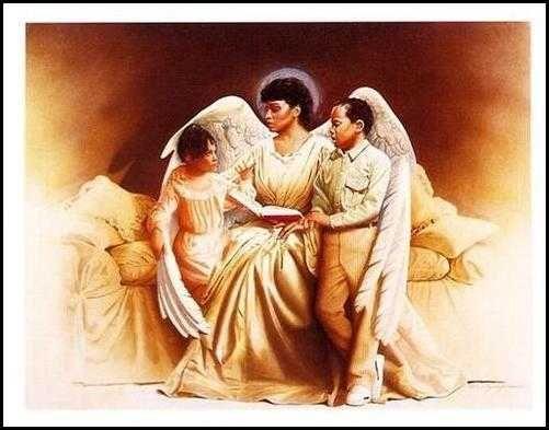 African American Christian Women Clip Ar-African American Christian Women Clip Art | black art religious prints religious  african american art-9