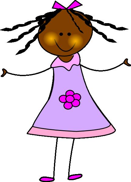 African American Doll Clip Art at Clker clipartall.com - vector clip art online 432 x 598