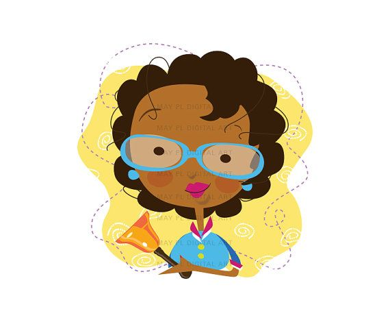 African American Teacher Clipart ...