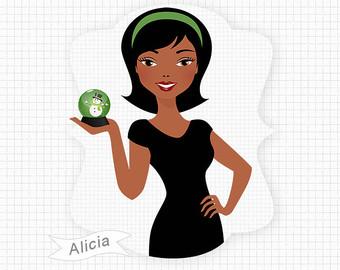 African American Women Clipart-African American Women Clipart-9