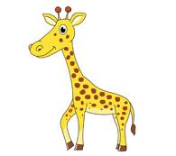 african giraffe clipart. Size: 26 Kb