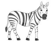african zebra clipart. Size: 48 Kb-african zebra clipart. Size: 48 Kb-14