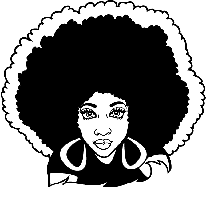 Afro Clipart Cliparts Co-Afro Clipart Cliparts Co-8