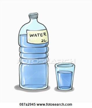 Agua Water Bottle Clipart-Agua Water Bottle Clipart-0