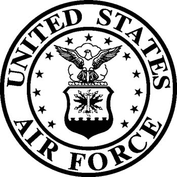 Air Force Emblem Black And ..