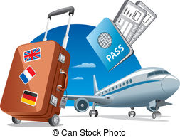 air travel Stock Illustrationby ...