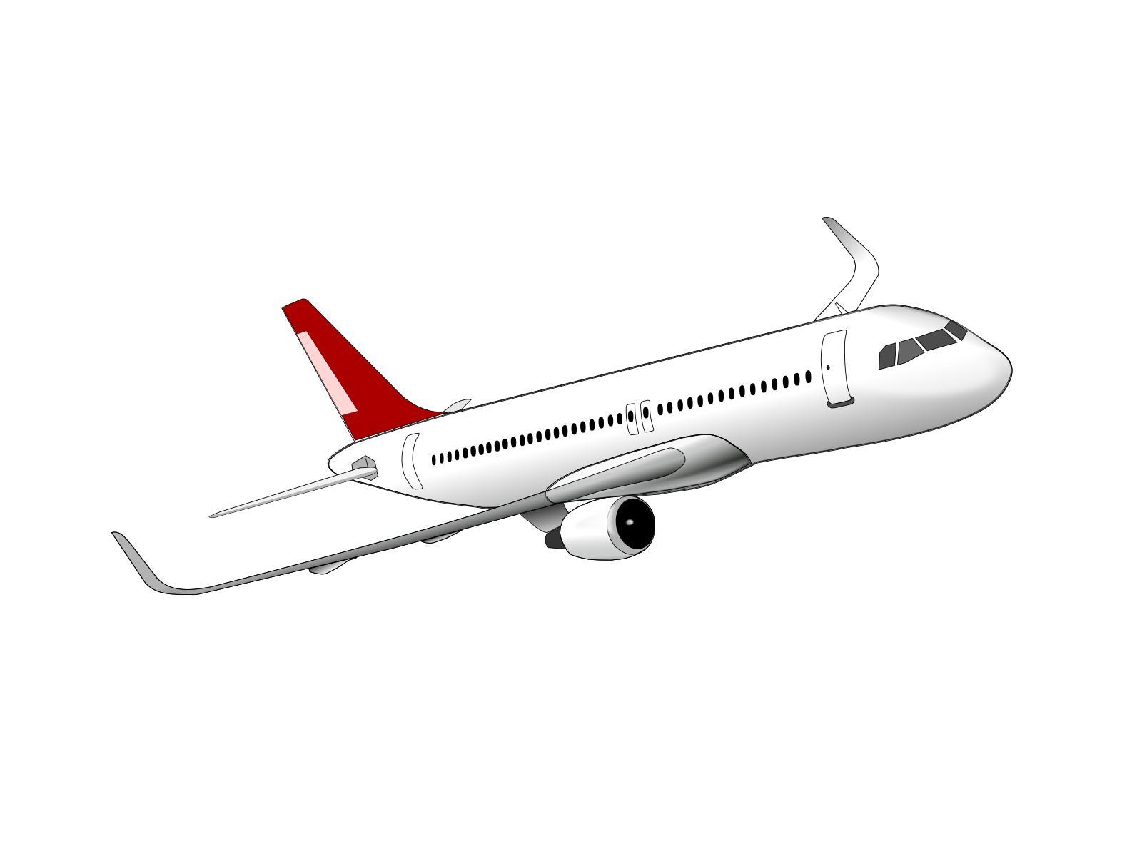 Airbus Clipart