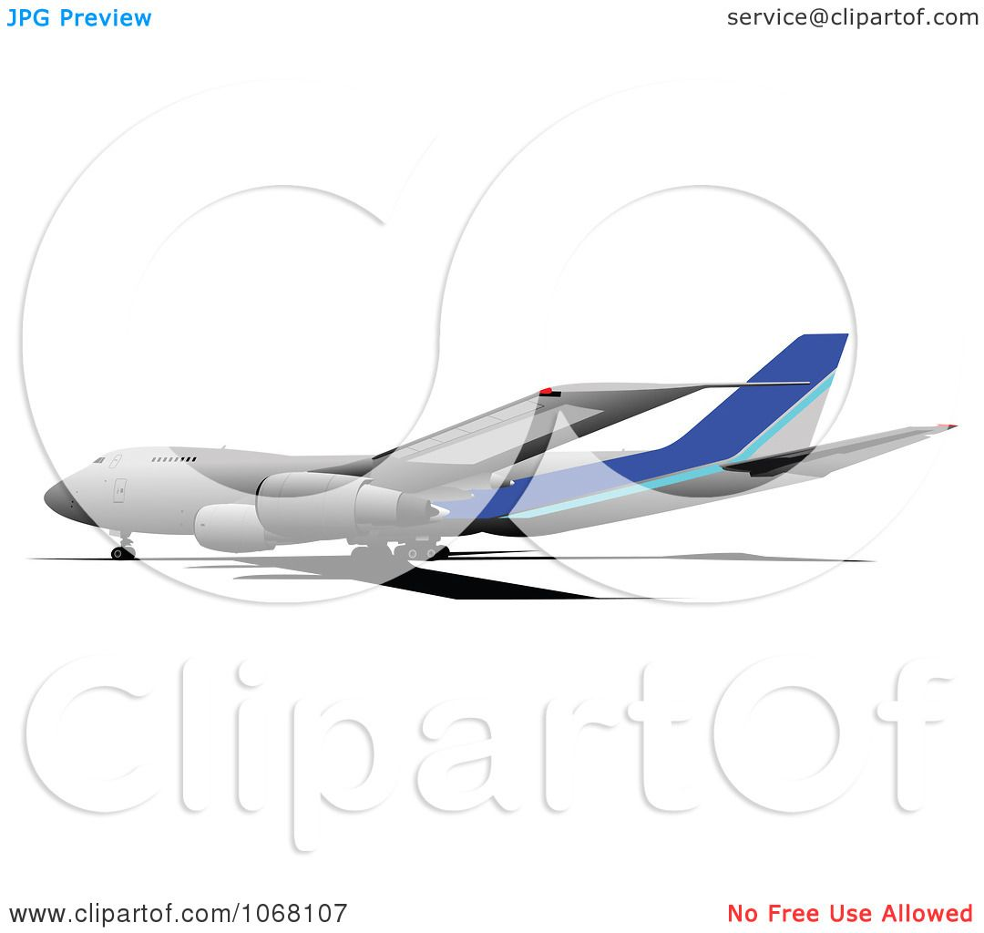 Clipart Airbus 11 - Royalty Free Vector Illustration by leonid
