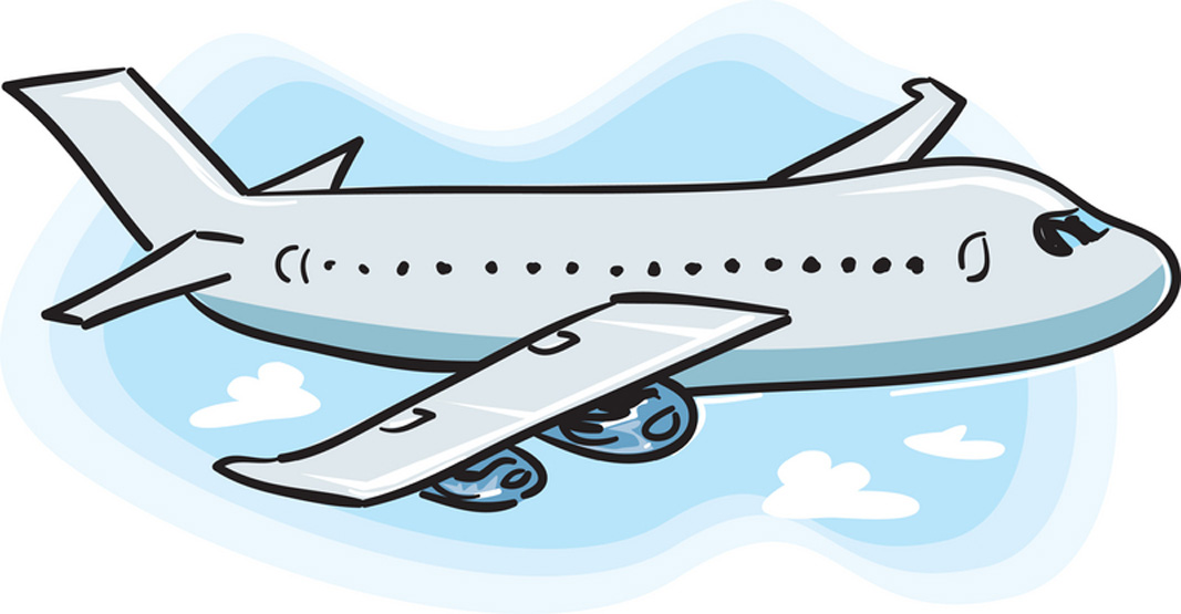Airline clipart: Airplane-clipart