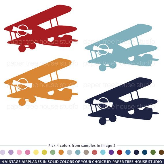Airplane Clipart Clip Art Art Customized-Airplane Clipart Clip Art Art Customized Vintage Airplanes Airplane-2